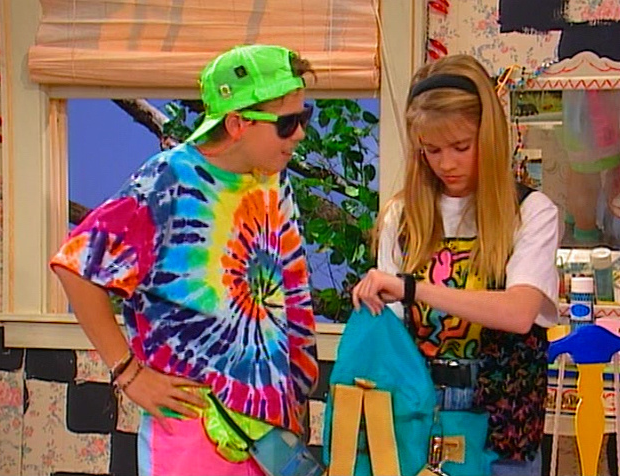 Clarissa and Sam, before things ever got weird