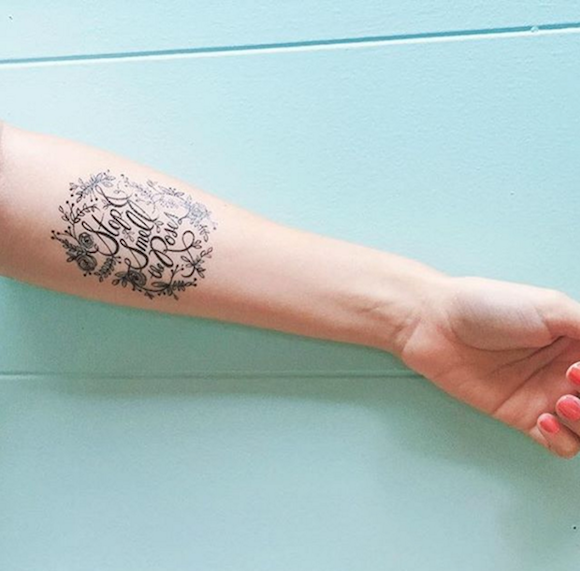 Get sleeved at Tattly's new washable tattoo pop-up parlor to Boerum Hill