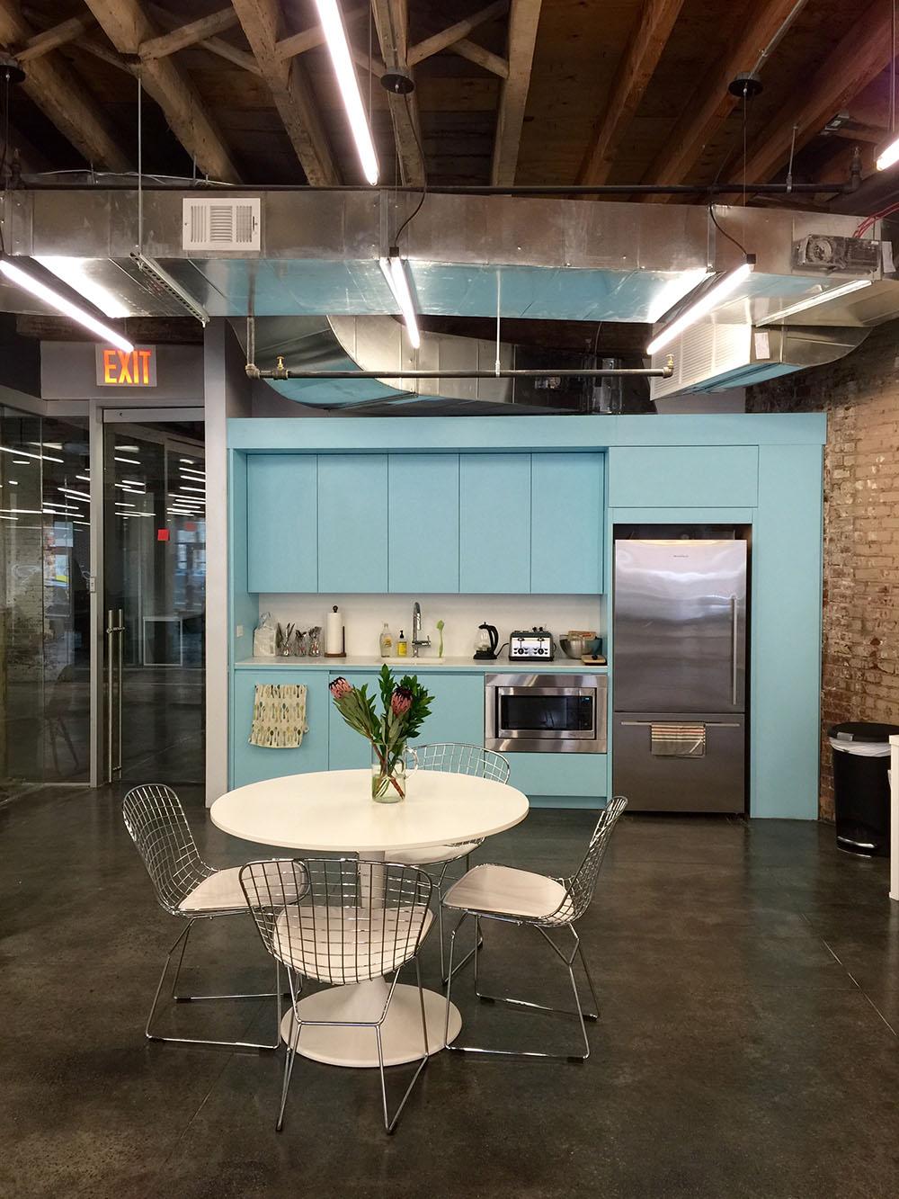Coworkrs Gowanus Farmigo kitchen