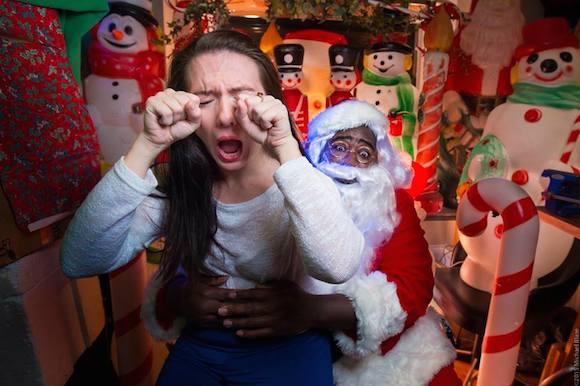 Santa's lap may never be the same. via Santastical FB