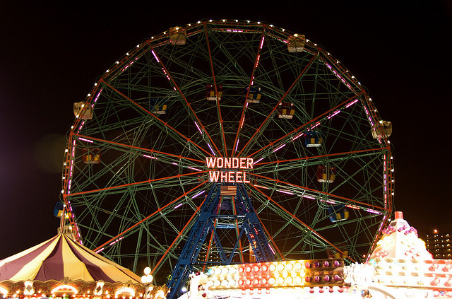 The Wonder Wheel will be free to ride on New Year's Eve