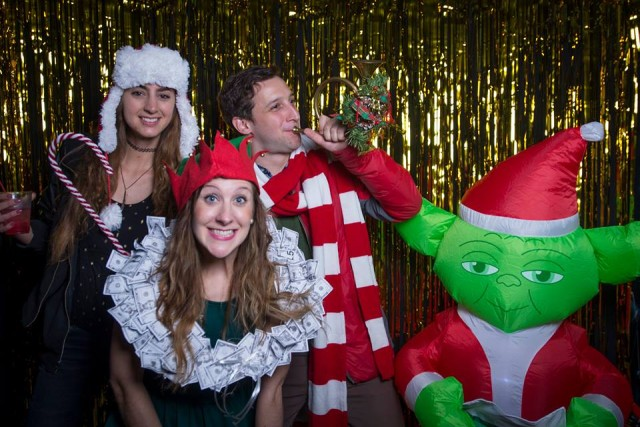 Merry brokesmas! Pics from the 5th annual No Office Holiday Party
