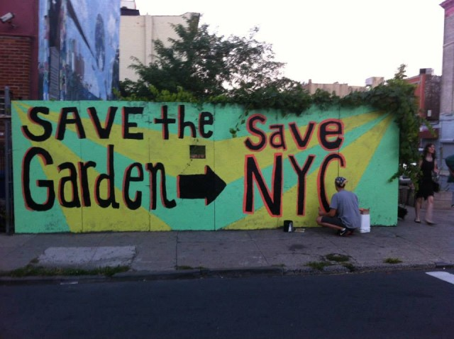 Have a drink, write a letter and help save this Crown Heights community garden from going condo