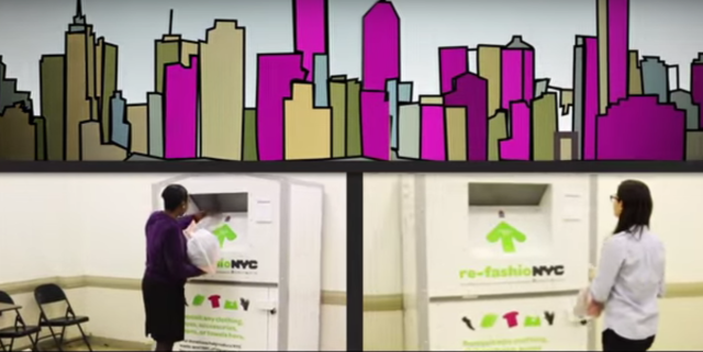 Want to donate your old clothes but don't have the time? Let the city pick them up for you