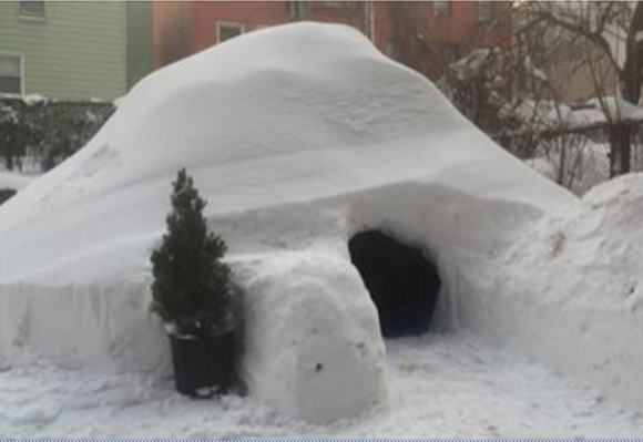 The coolest rental in Brooklyn this weekend was a $200/night igloo
