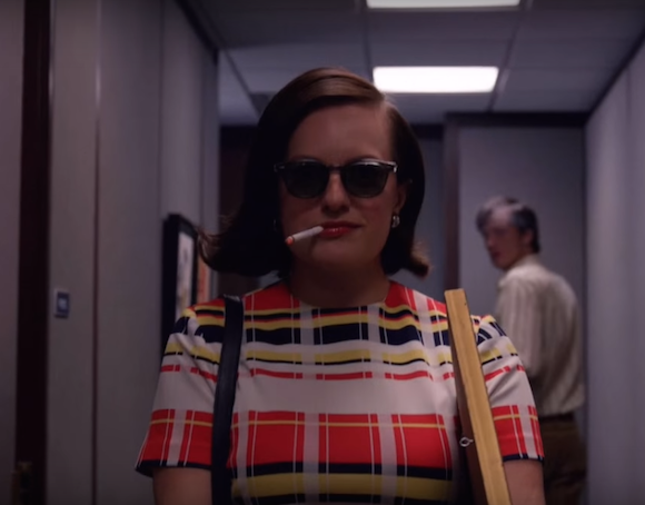 Own your job title. Like Peggy Olson, but with more money. via Youtube