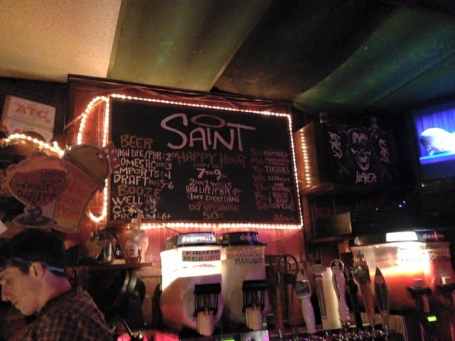 The Saint, a NOLA dive bar after our own hearts. Photo by Tim Donnelly/Brokelyn.