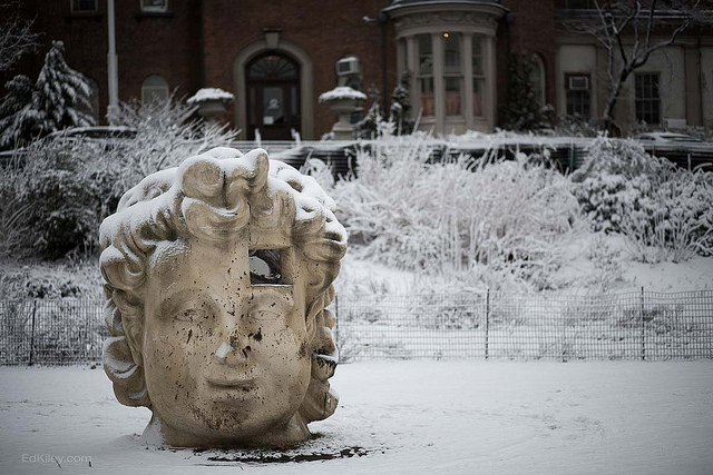 Prospect Park is ahead of the sculpture game. Photo by Flickr user Ed Kiley.
