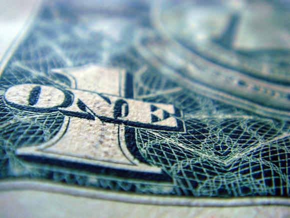 Dollar dollar bills, y'all. Chris Dlugosz / Flickr