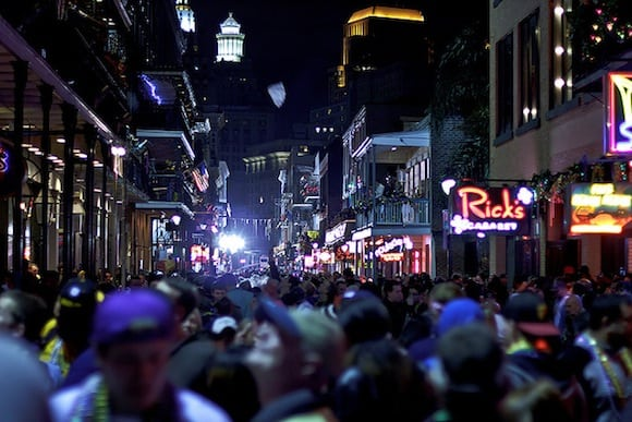 Bourbon Street on a Sunday Night. via Flickr user praline 3001
