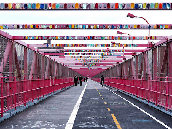 These bridges are made for walking, too. via Flickr user Ornickarr Greenbarrow