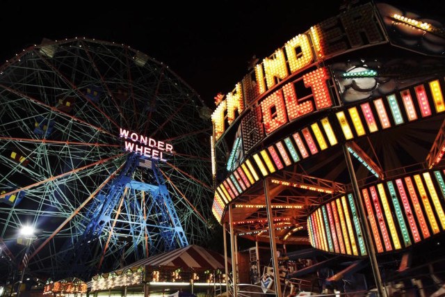 Quit your office job and work at Coney island this summer