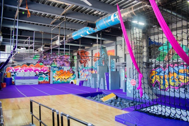 Bouncing off the walls: Hone your Ninja Warrior skills at this gym in Bushwick