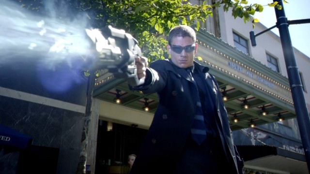 Wentworth Miller's Capt. Cold is like Mr. Freeze without the ice puns.