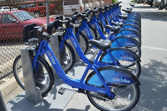 You wouldn't steal an Uber, so just don't steal a bike. It's easy. Photo by Mary Dorn