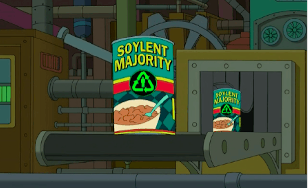 Not just people, it's delicious! Via Futurama.