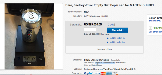 Diet Pepsi goes well with Diet Smugness.
