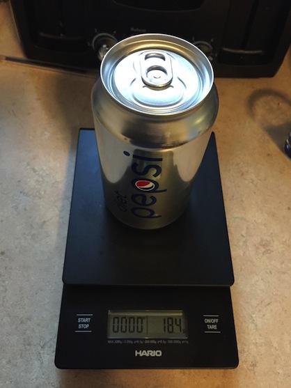 Zero calories, zero soda. via eBay