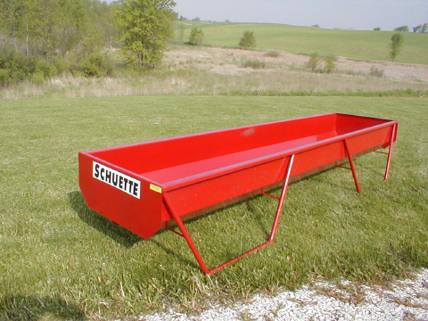 Nothing  feels as farm to table as an actual trough.