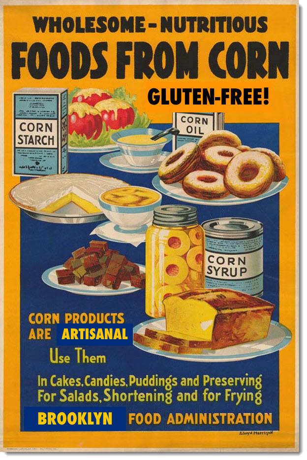 Corn: It's gluten-free!