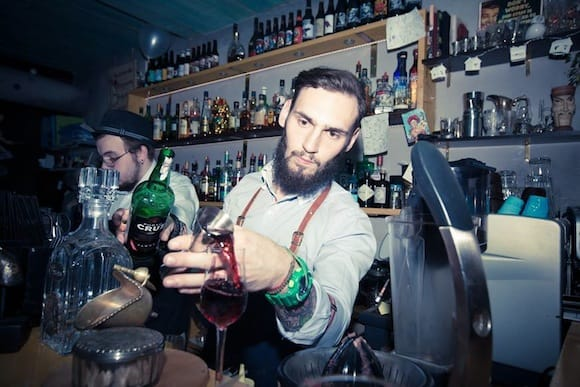 There's something about these bartenders that just feels familiar.  Ukeleleshnaya / Facebook
