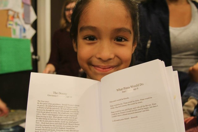 Sweet volunteering gig alert: Help these kids become published writers before middle school