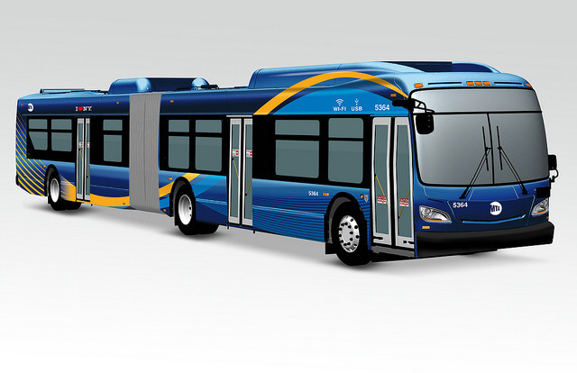 The new design for the wifi, USB-enabled buses. Via Gov. Cuomo's office.