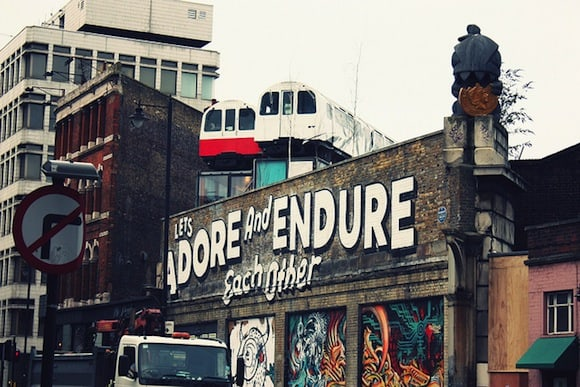 Live in Shoredith, so you neither have to adore nor endure Donald Trump. Gareth Morgan / Flickr