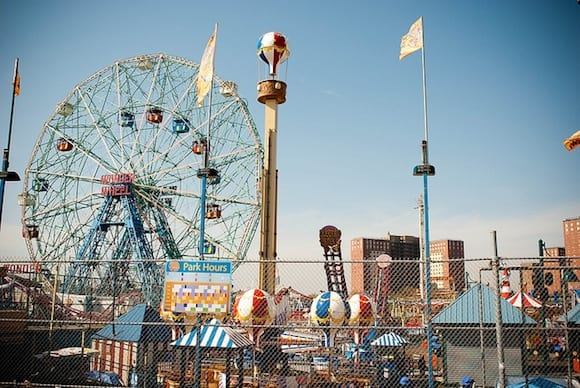 Coney Island opens this weekend with FREE rides on the Wonder Wheel and Cyclone!