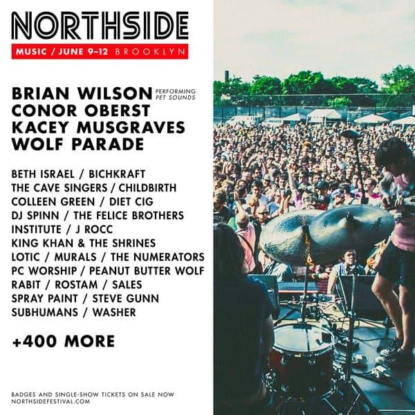 Northside's 2016 lineup.