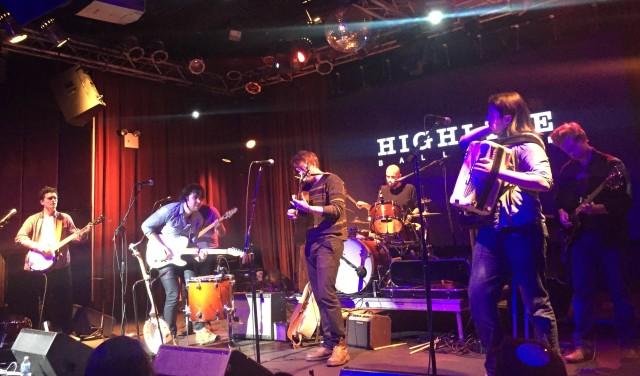 Pigpen performing at Highline Ballroom October 2015. Photo by Margaret Bortner