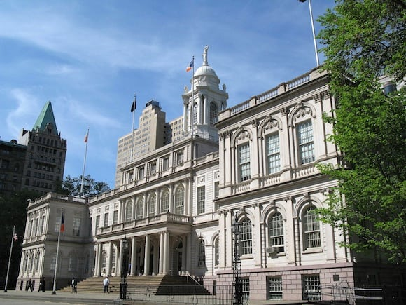 City Hall should get ready to witness a little choral history. via Wikipedia