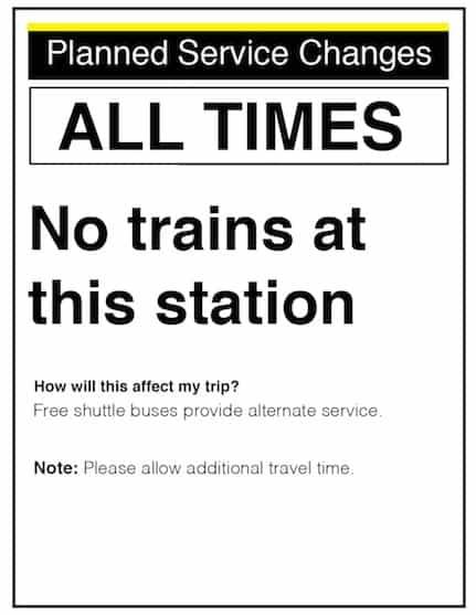 No Q Train, No Cry.