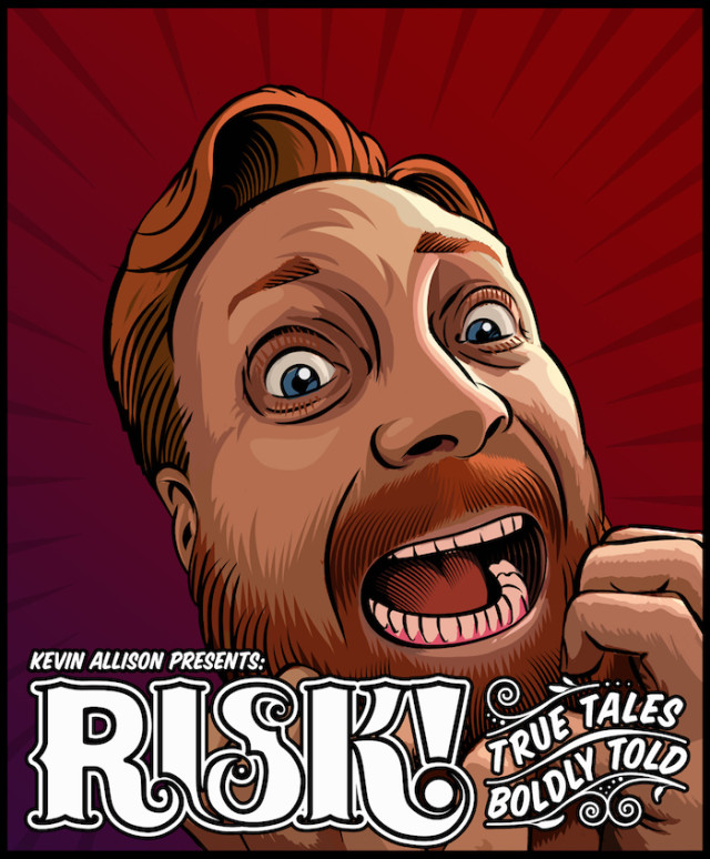 Risk is now a hit podcast and live show.