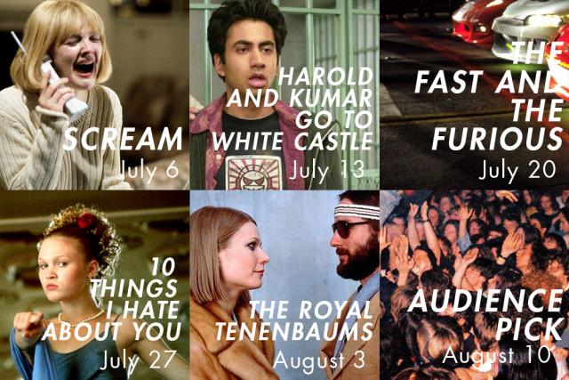SummerScreen's 2016 lineup.