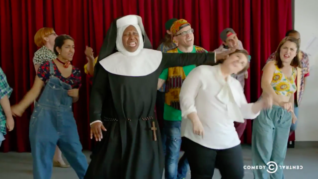 Whoopi! Cocoon Central Dance Team! And more in  this week's Broad City episode.