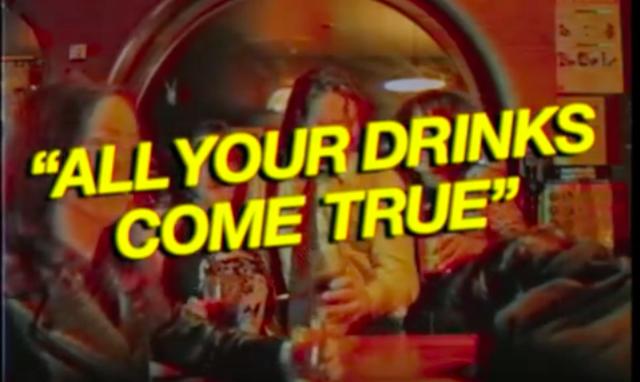 Bootleg Bar set a new standard in bar advertisements.