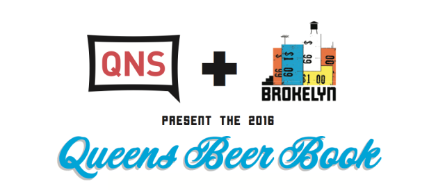 Coming soon in 2016: the 2nd annual Queens Beer Book.