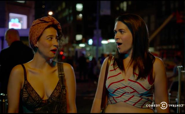 'Broad City' season 3, episode 7: 'In da clurb, we all fam'