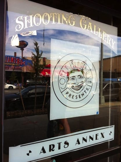 The recently-reopened Shooting Gallery, now an arts space. Fitting. (via Coney Island USA)