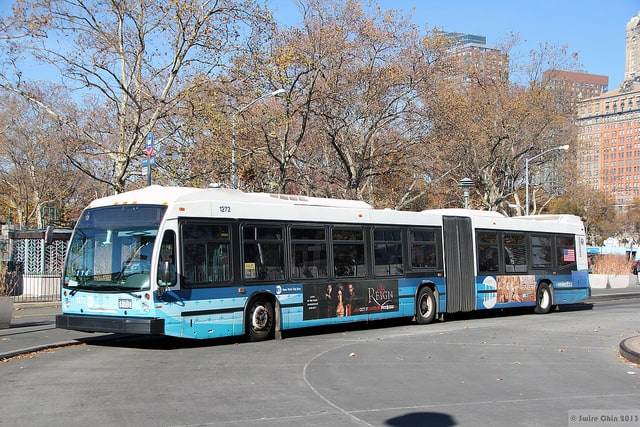 These big, bendy buses are your express ride. Can Pac Swire / Flickr