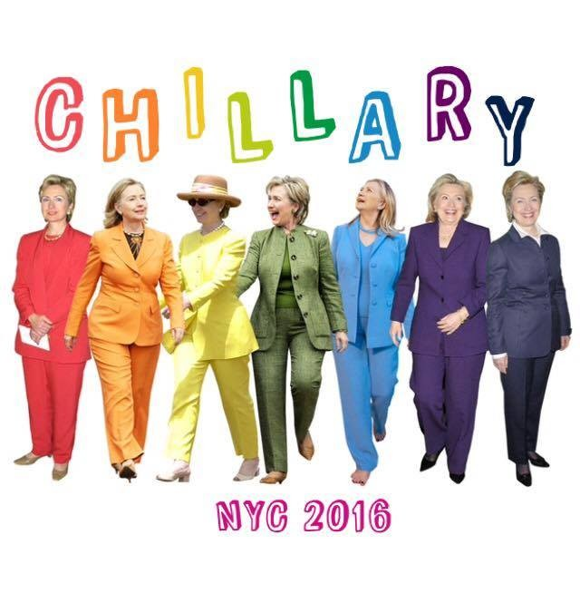 Chillary NYC is a comedy rally organized by Heather Fink this weekend.