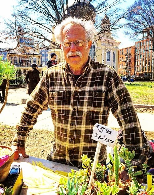 The far-out story of Richard Lenatsky, the famed 'succulent guy' of McCarren Park