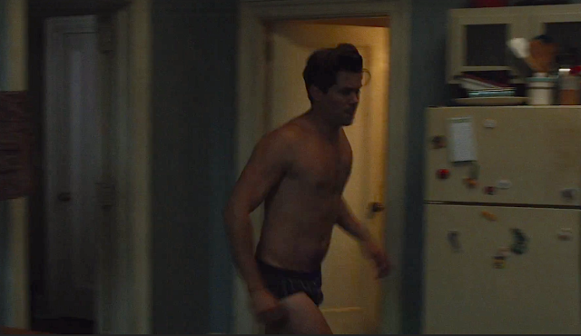 Look, it's my job to screenshot all these pictures of Andrew Rannells in briefs, OK?