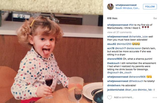Start 'em young. via Instagram