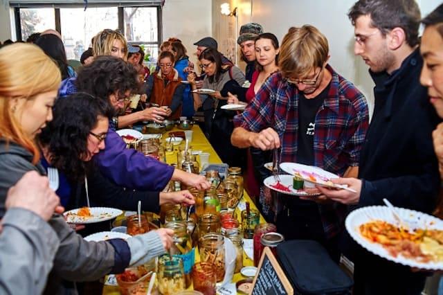 Fermenters love to party. Credit: Ted Gulek / Clara Waloff
