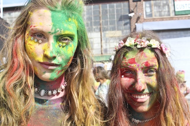 Is Bushwick's Holi festival a harmless hippie celebration or cultural appropriation?