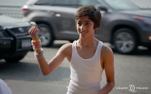 Teens wear the darndest things.