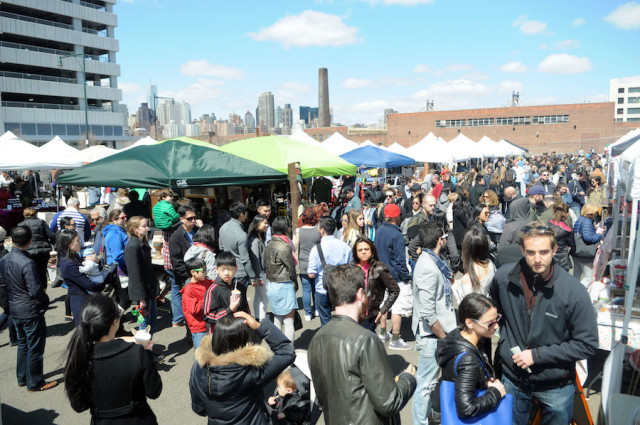 Opening weekend at the LIC Flea is here. Via QNS.com.