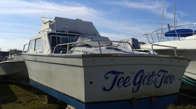 Hey, it's a free yacht, courtesy of a dad in Sheepshead Bay (who wants to go fishing with you)